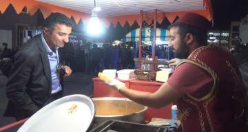 Ramazan akşamlarında süt mısır keyfi