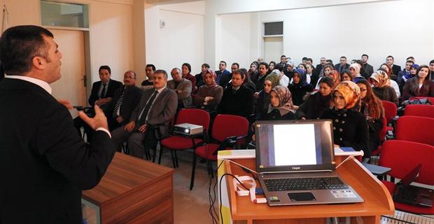 Proje Bilgilendirme toplantısı yapıldı