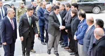 Vali Arslantaş, İliç ilçesinde incelemelerde bulundu