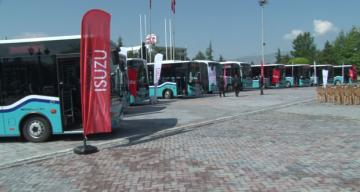 Erzincan'da Toplu Taşımaya 10 Yeni Araç