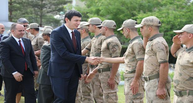 Erzincan'da Toplu Bayramlaşma