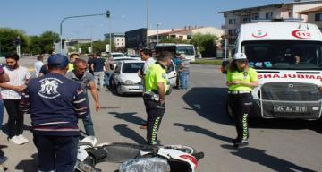 Meydana gelen kazada 1 kişi yaralandı