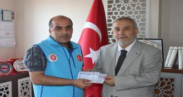 Müftü Mehmet Emin Çetin'den 4 Adet Kurban Bağışı