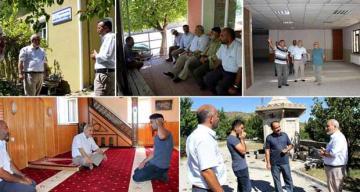 Köy Camiilerine Ziyaretler
