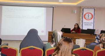 Çocuk ve Ergenlerde Adli psikiyatrik konulu seminer verildi