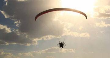 Yamaç Paraşütü uçuşlarına ilgi artıyor