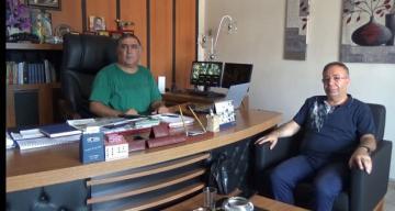 Erzincanlılar Maltepe Derneğinden ERT Şah Tv ye Ziyaret
