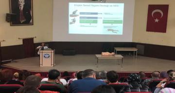 Erzincan Binali Yıldırım Üniversitesi Mengücek Gazi Eğitim ve Araştırma Hastanesi çalışanlarına eğitim verildi