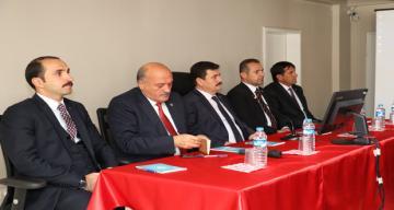 Erzincan Valisi Ali Arslantaş , Tercan ve Otlukbeli İlçelerinde Muhtarlar İle Bir Araya Geldi