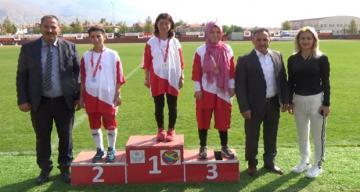 Amatör Spor Haftasında Özel Öğrenciler Doyasıya Eğlendiler