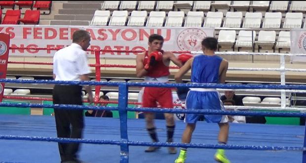 Türkiye Ferdi Boks Şampiyonası Erzincan'da Başladı