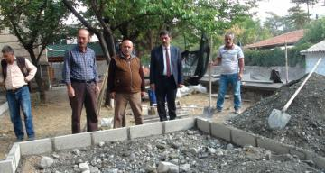 Gülabibey Camisinde Çevre Düzenleme Çalışmaları Başladı