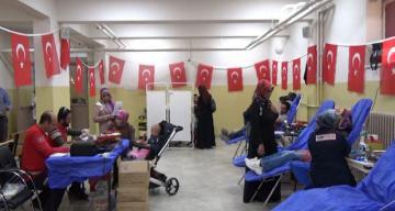 Mehmetçik için kan bağışladılar
