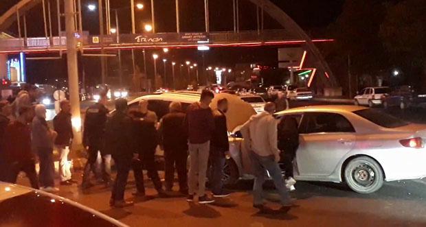 Erzincan'da Ergan kavşağında meydana gelen ve iki aracın çarpıştığı trafik kazasında 1 kişi hafif yaralandı