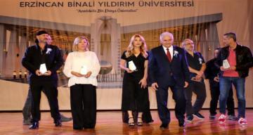 Erzincan'da düzenlenen 1. Erzincan Uluslararası Kısa Film Festivali ödül töreni yapıldı.