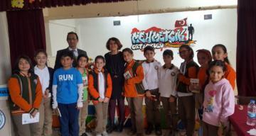 Çocuk Edebiyatı Yazarlarından Hacer Kılıcıoğlu Erzincan'da Ağırlandı