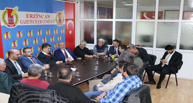 AK Parti'den EGC'ye Ziyaret