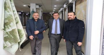 Erzincan Valisi Ali Arslantaş Esnaf Ziyareti